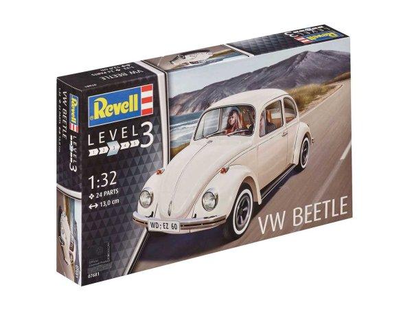Revell Plastikový model auta VW Beetle