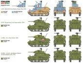 Italeri Wargames tank 15761 - M3/M3A1 Stuart