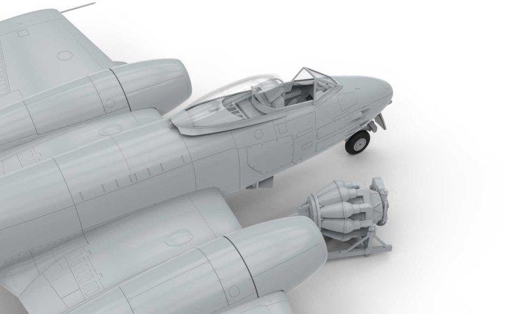 Airfix Classic Kit letadlo - GLOSTER METEOR F.8