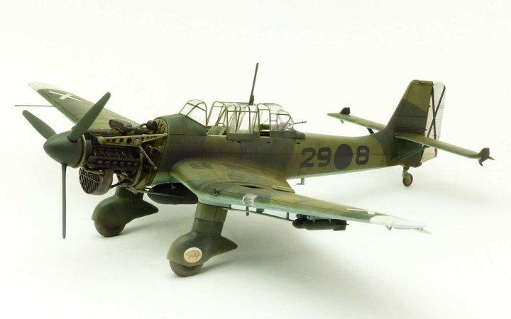 Airfix Classic Kit letadlo - JUNKERS Ju87B-1 STUKA
