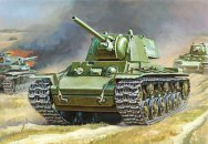 Zvezda Model Kit tank - KV-1 SOVIET HEAVY TANK