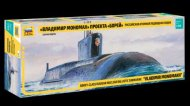 "Zvezda ModelKit ponorka - Borey-Class Russian Nuclear Ballistic Submarine ""VLADIMIR MONOMAKH"""