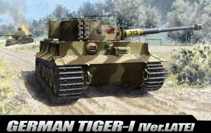 "Academy Tiger I ""Late Version"""