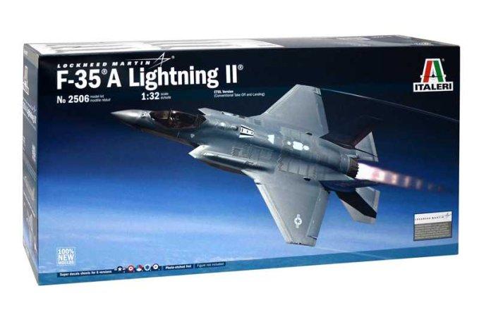 Italeri Model Kit letadlo 2506 - F-35A LIGHTNING II