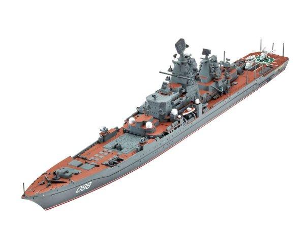 Revell Plastikový model lodě Petr Velikiy