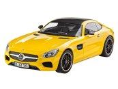 Revell ModelSet - Plastikový model auta Mercedes AMG GT