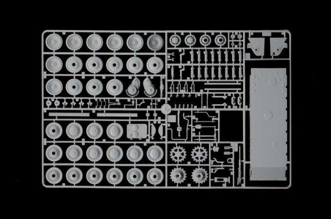 Italeri Model Kit tank 0285 - Sd.Kfz.179 Bergepanther
