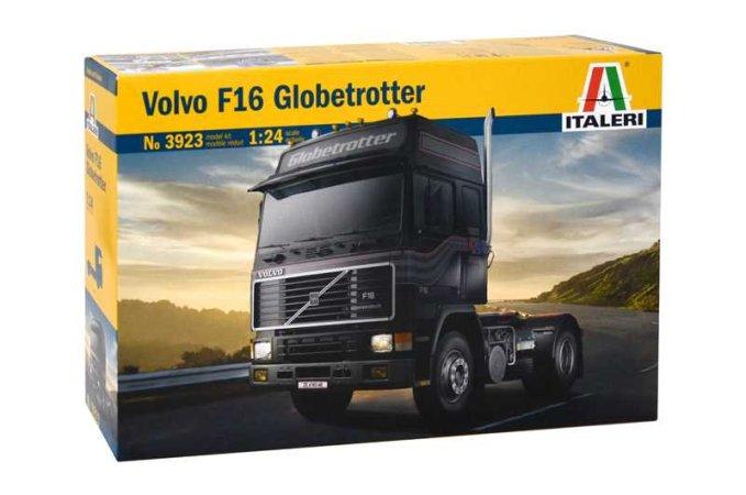 Italeri Model Kit Kamion 3923 - VOLVO F-16 GLOBETROTTER