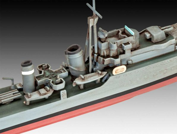 Revell Plastikový model lodě HMS Ark Royal & Tribal Class Destroyer
