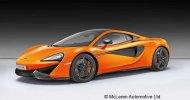 Revell ModelSet - Plastikový model auta McLaren 570S
