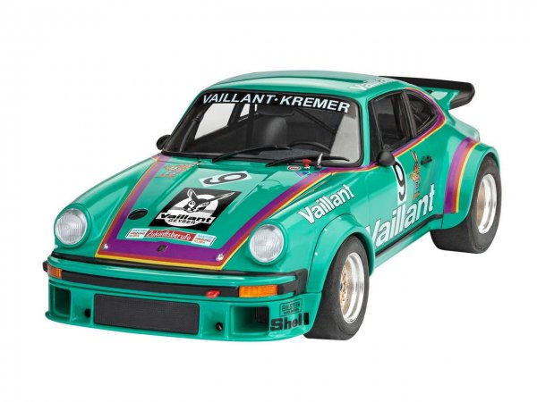 """Revell Plastikový model závodního auta Porsche 934 RSR """"Vaillant"""""""