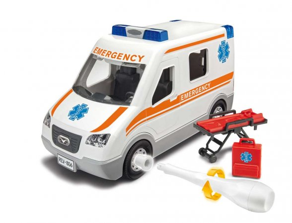 Revell Junior Kit auto - Ambulance