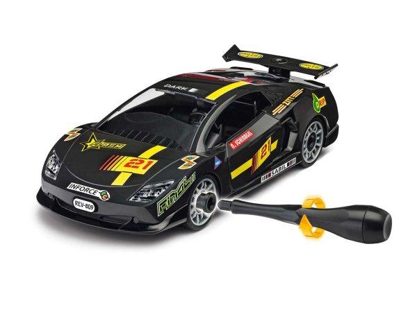 Revell Junior Kit auto - Racing Car, black