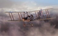 Airfix Classic Kit letadlo - Royal Aircraft Factory BE2c Scout