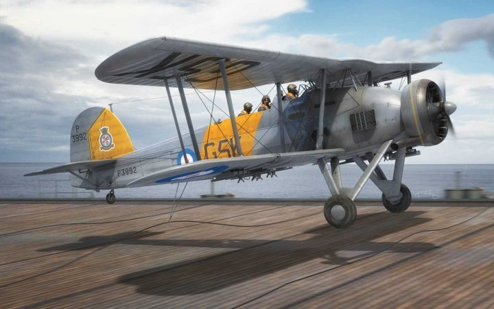 Airfix Classic Kit letadlo - Fairey Swordfish Mk.I