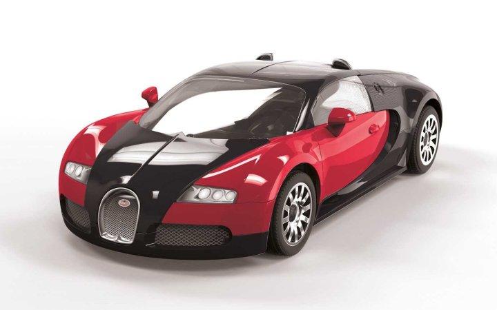 Airfix Quick Build - Plastikový model auta Bugatti Veyron