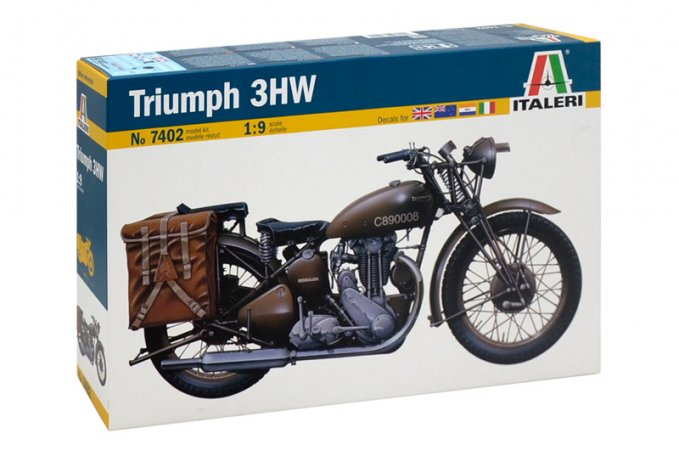 Italeri Model Kit military 7402 - TRIUMPH 3HW