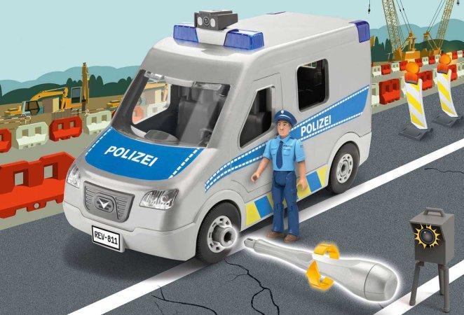 Revell Junior Kit auto - Police Van