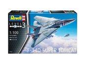 Revell Plastikový model letadla F-14D Super Tomcat