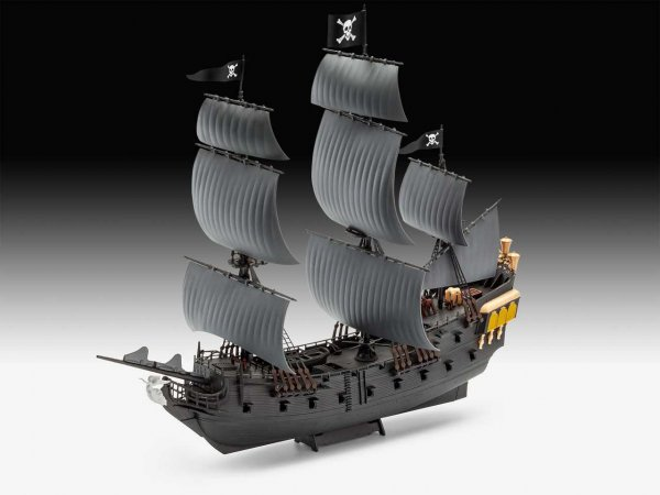 Revell EasyClick - Plastikový model plachetnice Black Pearl