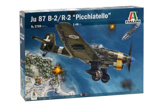 "Italeri Model Kit letadlo 2769 - JU 87 B-2/R-2 ""PICCHIATELLO"""