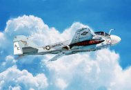 Italeri Model Kit letadlo 1405 - KA-6D Intruder