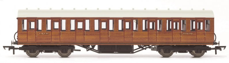 Hornby Vagón osobní - LNER Thompson Non-corridor 3rd Class Coach, Teak