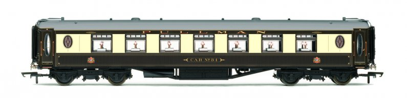 Hornby Vagón osobní - Pullman Second Class Parlour Car 'Car No.34'