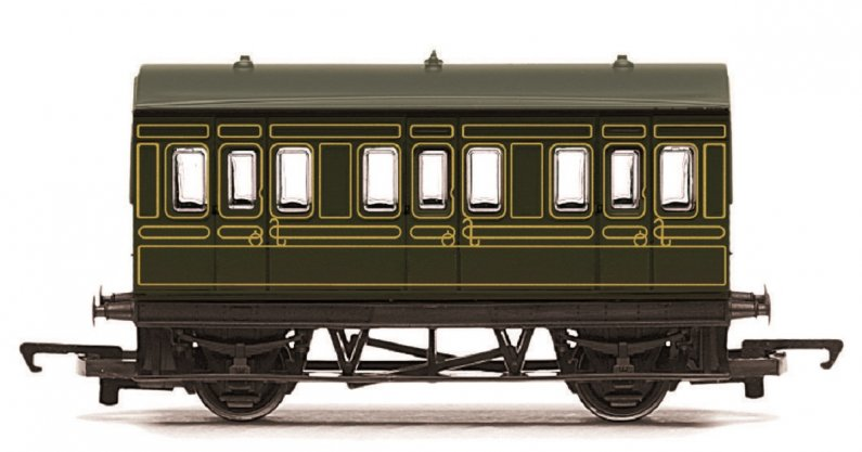 Hornby RailRoad - Vagón osobní - SR 4 Wheel Coach