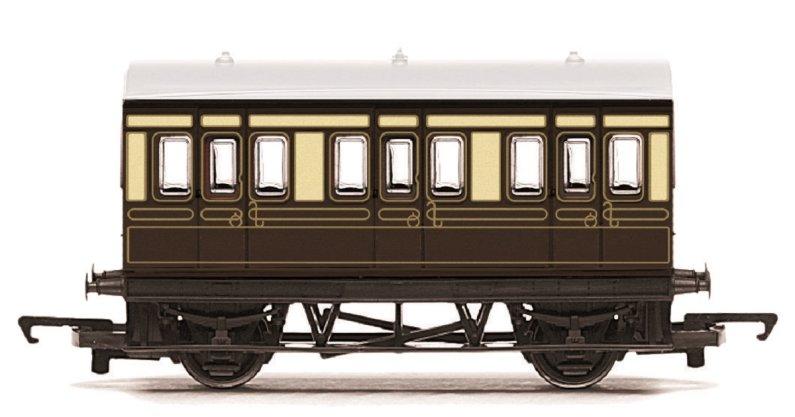 Hornby RailRoad - Vagón osobní - GWR 4 Wheel Coach