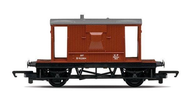 Hornby RailRoad - Vagón nákladní - BR 20 Ton Brake Van