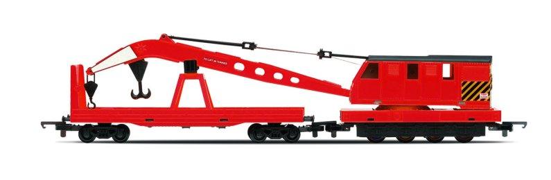 Hornby RailRoad - Vagón nákladní - Breakdown Crane