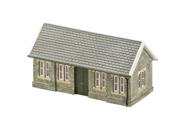 Hornby Budova pro modelovou železnici  - Granite Station Waiting Room