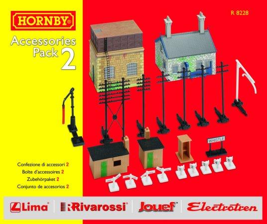 Hornby Rozšíření trati sada - Building Extension Pack 2