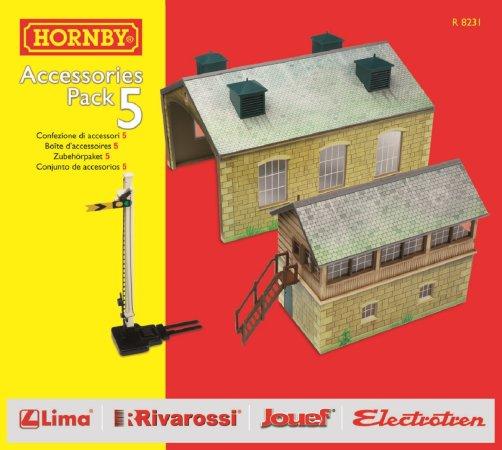Hornby Rozšíření trati sada - Building Extension Pack 5