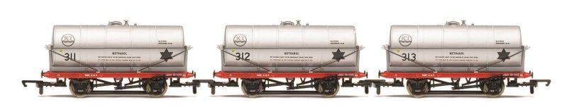 Hornby Set tří nákladních vagónů - 20 Ton Tank Wagon, ICI