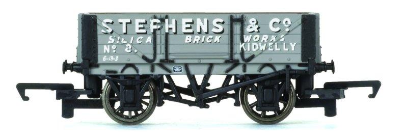 Hornby Vagón nákladní - 4 Plank Wagon 'Stephens & Co.'