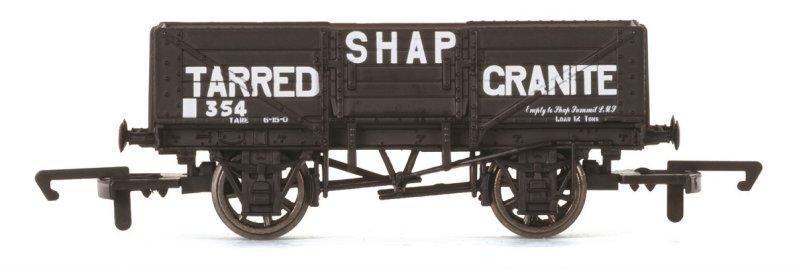 Hornby Vagón nákladní - 5 Plank Wagon 'Shap Tarred Granite'