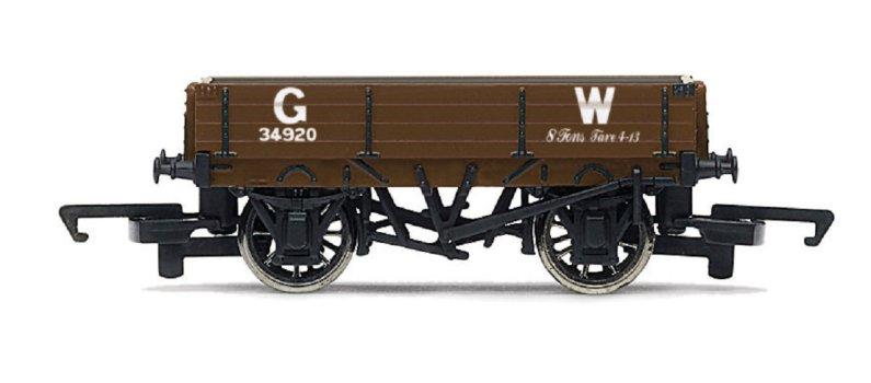 Hornby Vagón nákladní - 3 Plank Wagon 'GW'