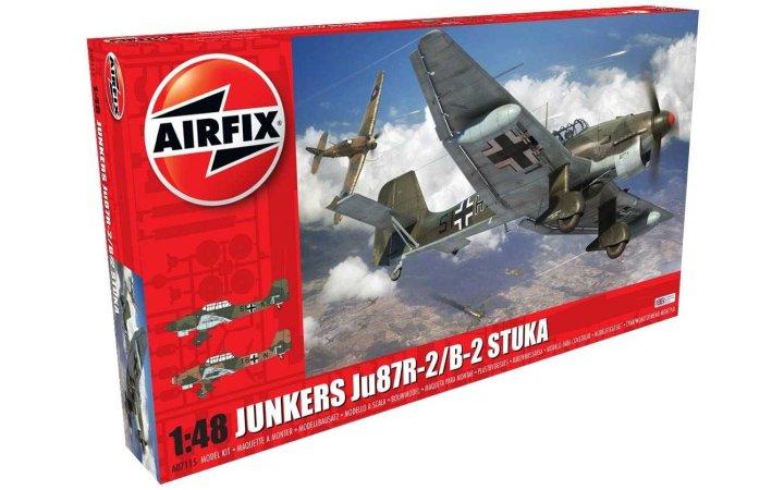 Airfix Classic Kit letadlo - Junkers JU87R-2/B-2 Stuka