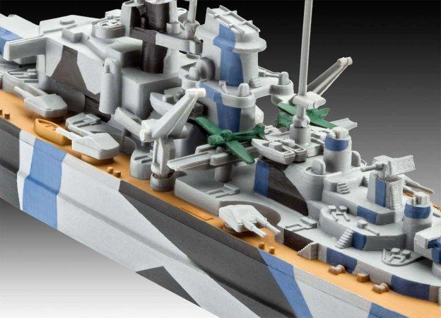 Revell ModelSet Plastikový model lodě Tirpitz