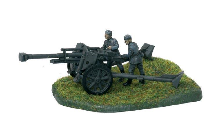 Zvezda Wargames (WWII) military - German Howitzer leFH-18