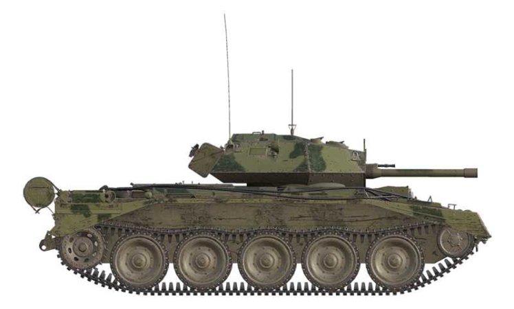 Italeri Model Kit World of Tanks - Crusader III