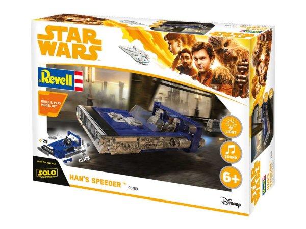 Revell Build & Play - Plastikový model Star Wars Han's Speeder