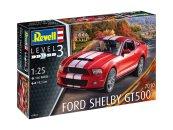 Revell Plastikový model auta 2010 Ford Shelby GT 500