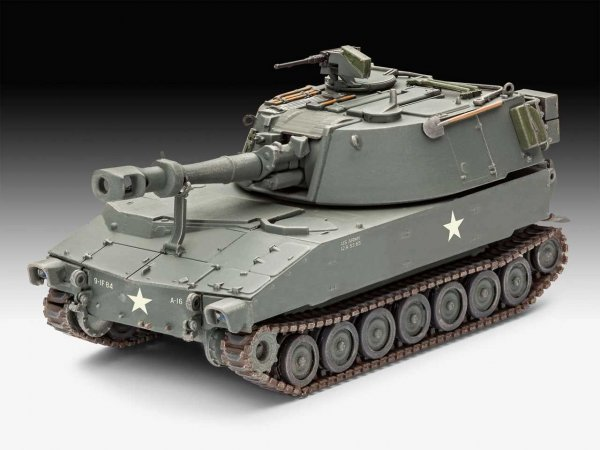 Revell Plastic ModelKit houfnice - M109 US Army