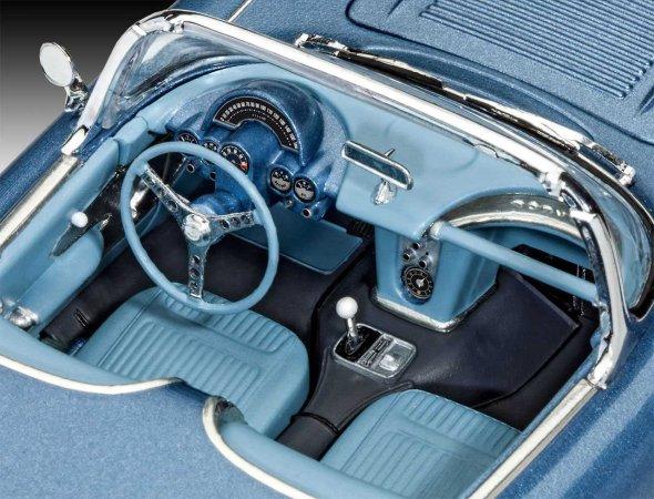 Revell ModelSet - Plastikový model auta '58 Corvette Roadster