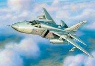 Zvezda ModelKit letadlo - SU-24 MR (re-release)