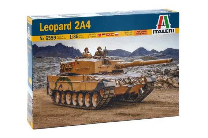 Italeri Model Kit tank - Leopard 2A4