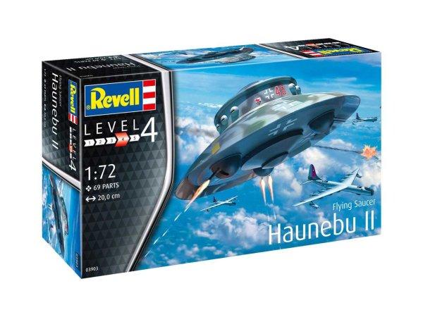 Revell Plastikový model letadla Flying Saucer Haunebu